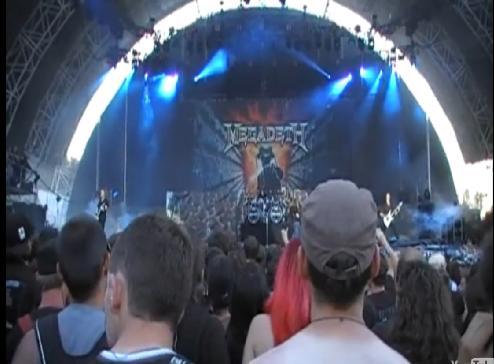 Megadeth Live Video