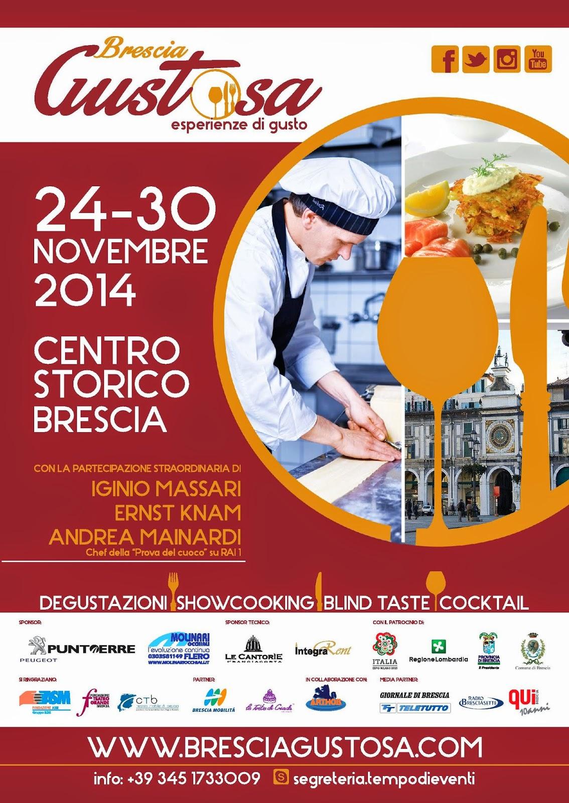 Brescia Gustosa  dal 24 al 30 Novembre Brescia