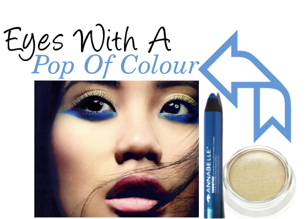 beauty, eyes, annabelle cosmetics, blue