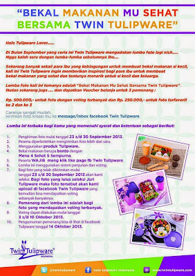 Lomba Kreasi Foto Twin Tulipware September 2013