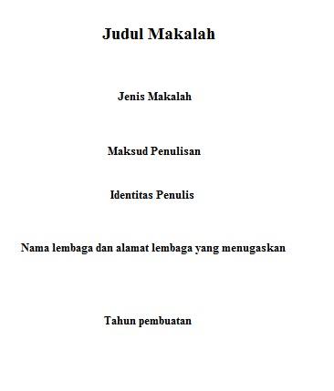 Contoh Judul Makalah Karya Ilmiah Worlanisfgod41 S Soup