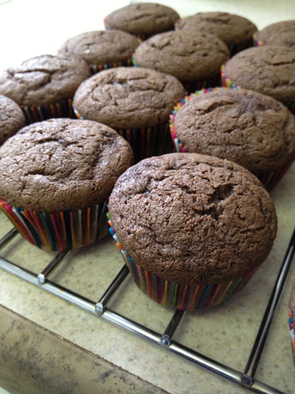 PJ's Kitchen: Chocolate Cherry Cupcakes, Two Ways