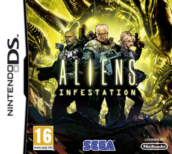 Aliens: Infestation [NDS] [EUR] Español [MG]