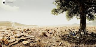 árvores fazem uma falta...