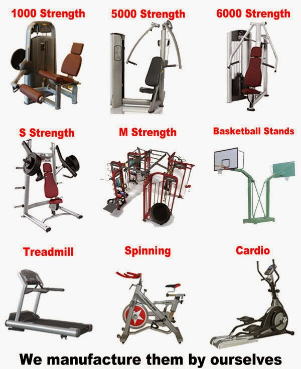 workout machine brands