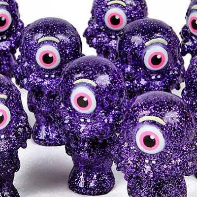 Buff Monster x Healeymade Purple Glitter Sue Resin Figure