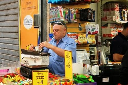 verkoper Mahaneh Yehuda