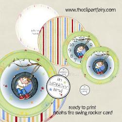 Noah's Tire Swing - RTP Rocker Card