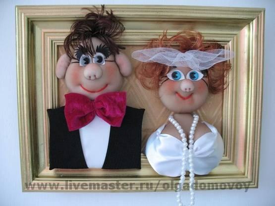 Портрет жениха и невесты своими руками 73