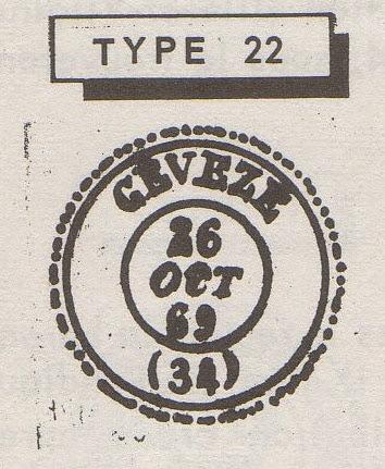 CACHET TYPE 22