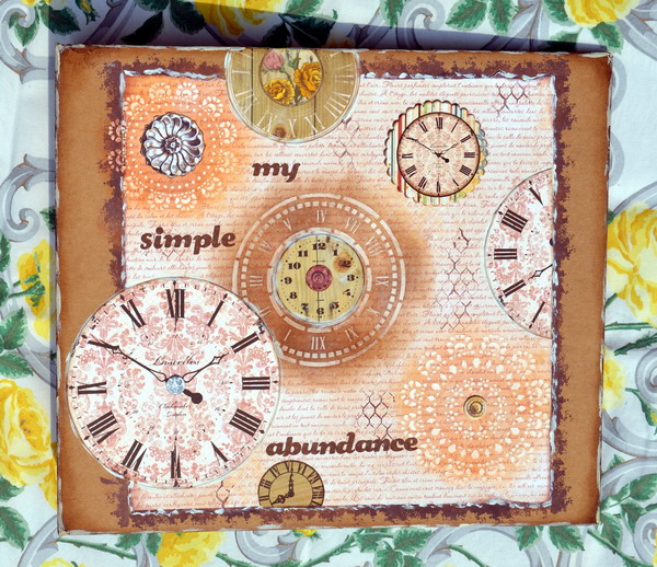 Misc. Me Album Cover by Denise van Deventer using BoBunny Provence Collection