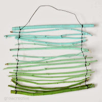 Totally Tutorials: Tutorial - How to Make an Ombre Twig Wall Hanging