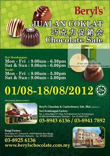 Beryl's Chocolate Sale 2012