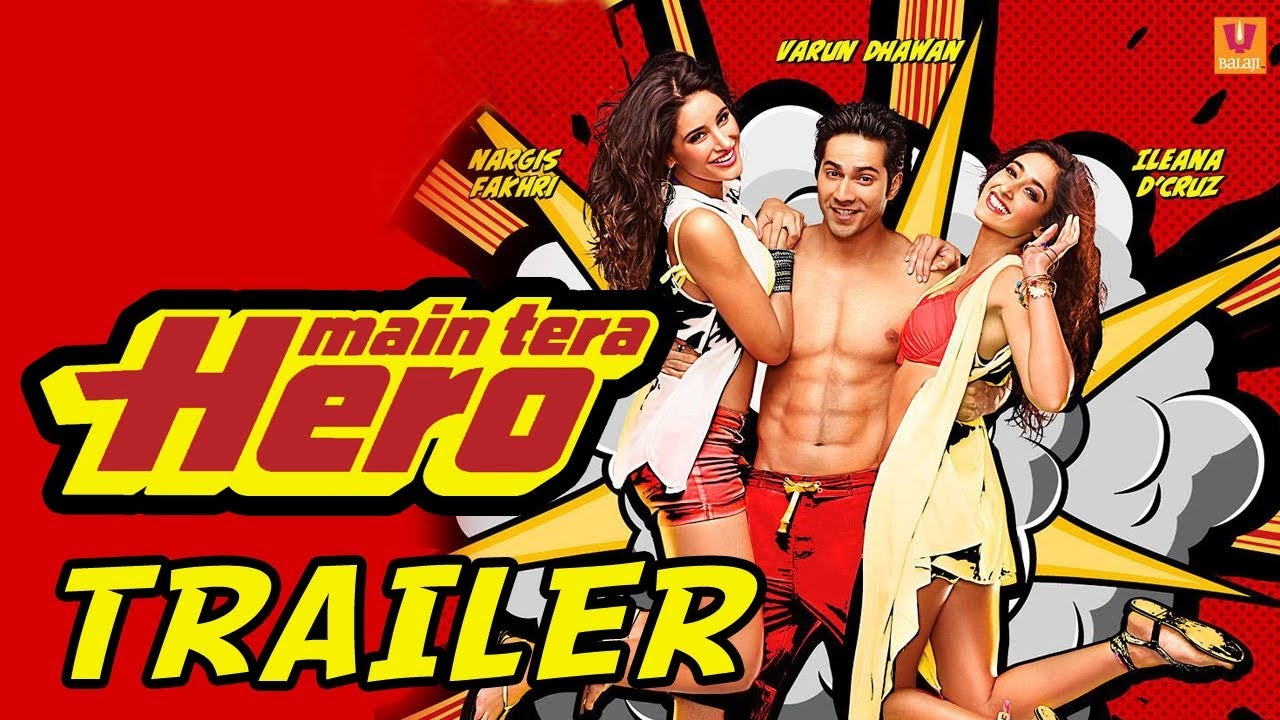 Main Tera Hero 2014 Full Latest Bollywood Movie Free Download dvdrip HQ
