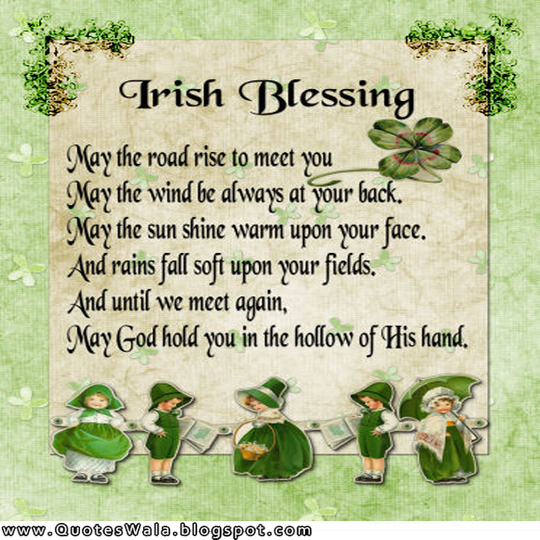 irish blessing quotes