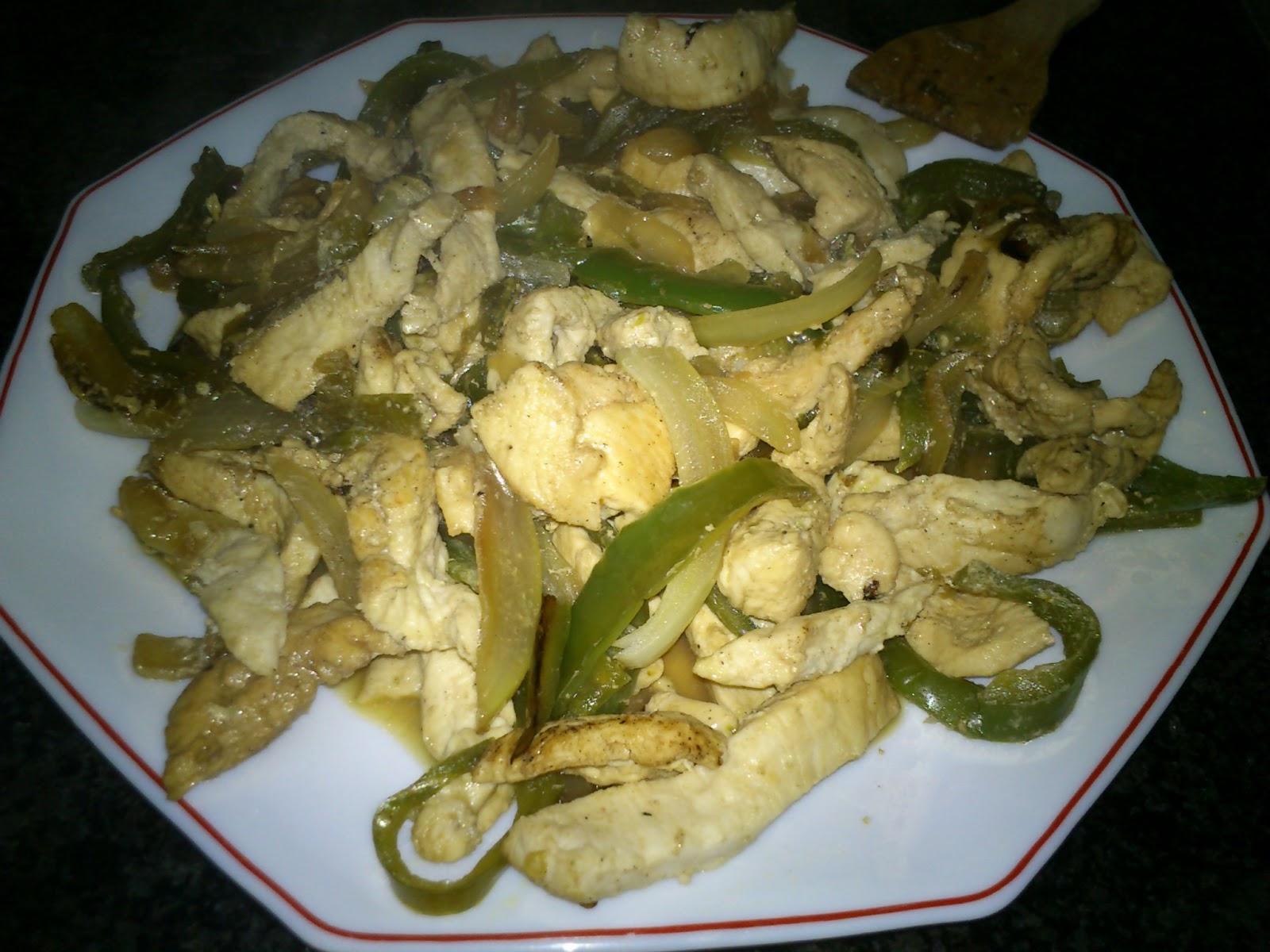 Recetas de cocina f ciles y econ micas fajitas de pollo for Comidas ricas y baratas
