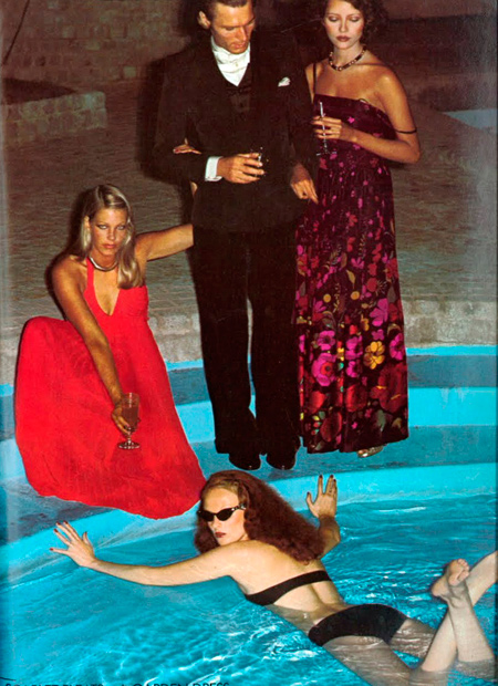 Fiesta en la piscina Grace Coddington