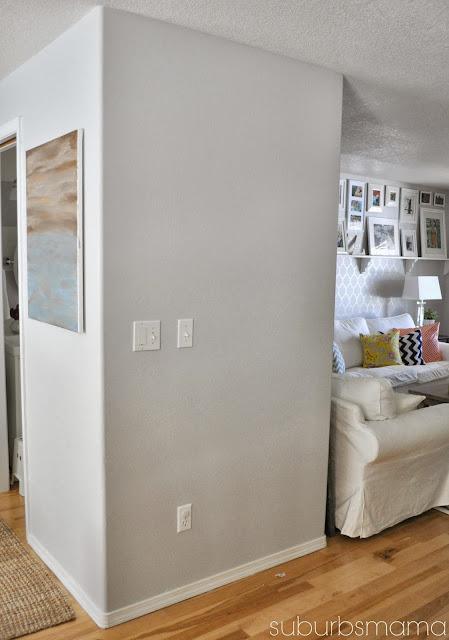 Suburbs mama that awkward blank wall for Four blank walls