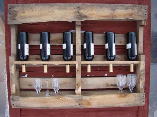 botellero de palés