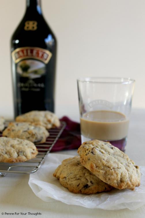 Baileys & Chocolate Chunk Cookies