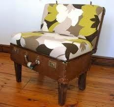 móveis feitos de material reciclado