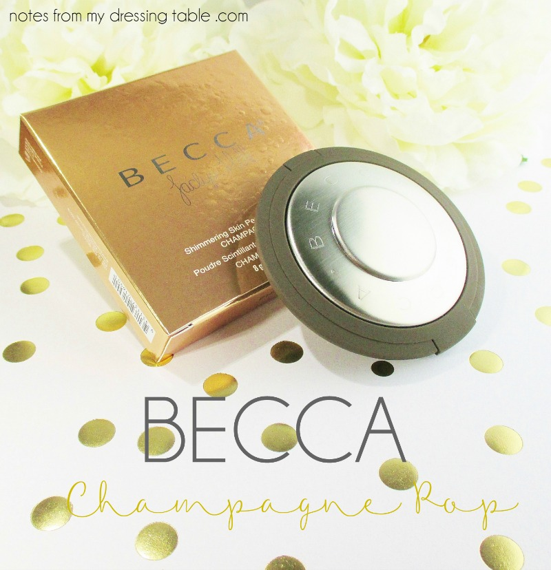 Becca X Jaclyn Hill Shimmering Skin Perfector Pressed - Champagne Pop notesfrommydressingtable.com