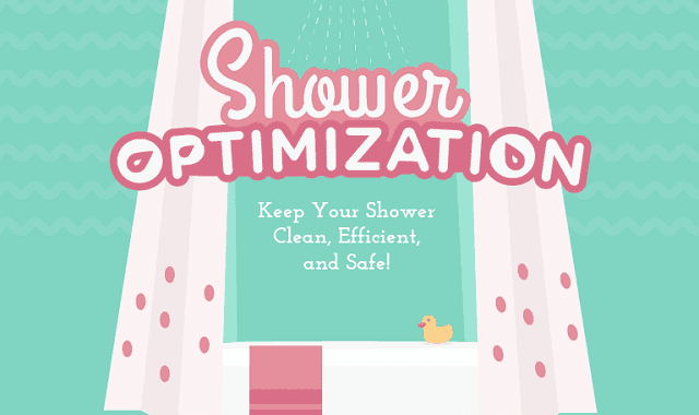 Image: Shower Optimization: Keep Your Shower Clean, Efficient, And Safe