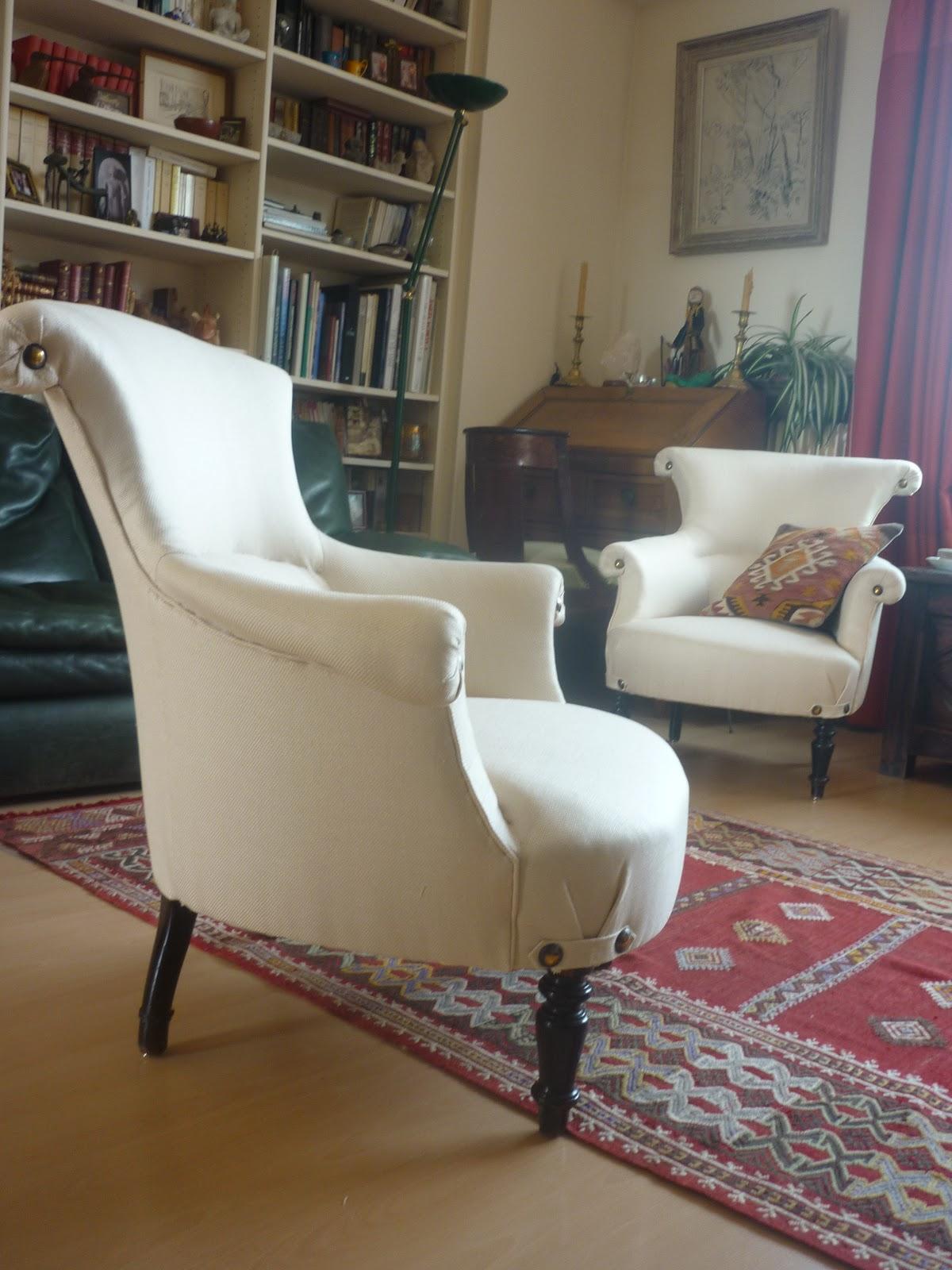 fauteuil napolon iii lambrequin - Fauteuil Napoleon 3