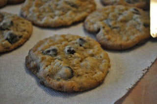 My Mom's Chocolate Chip Oatmeal Cookies from The Friday Friends