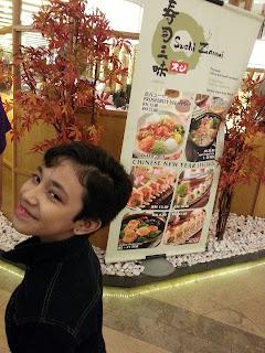 japanese food , sushi Zanmai di Gardens Midvalley