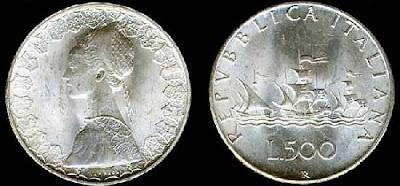 numismatica & filatelica,,,  500Caravelle