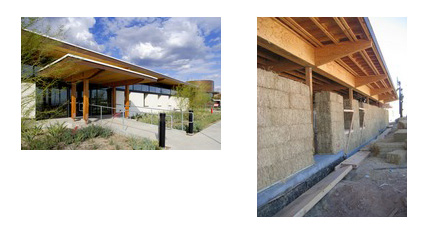 Anne johnson aia straw bale a winning choice for all for Straw bale house cost per square foot