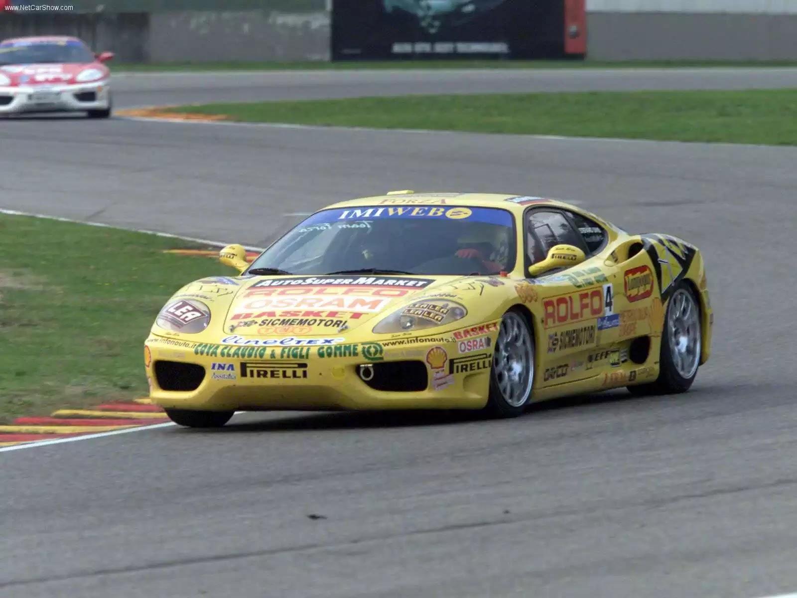 Hình ảnh siêu xe Ferrari 360 Modena Challenge 2001 & nội ngoại thất