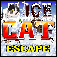 Juegos de escape Ice Cat Escape
