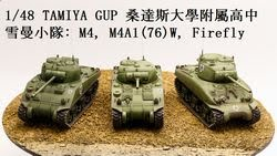 1/48 GuP 桑達斯雪曼小隊