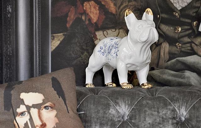 ceramic bulldog minheart