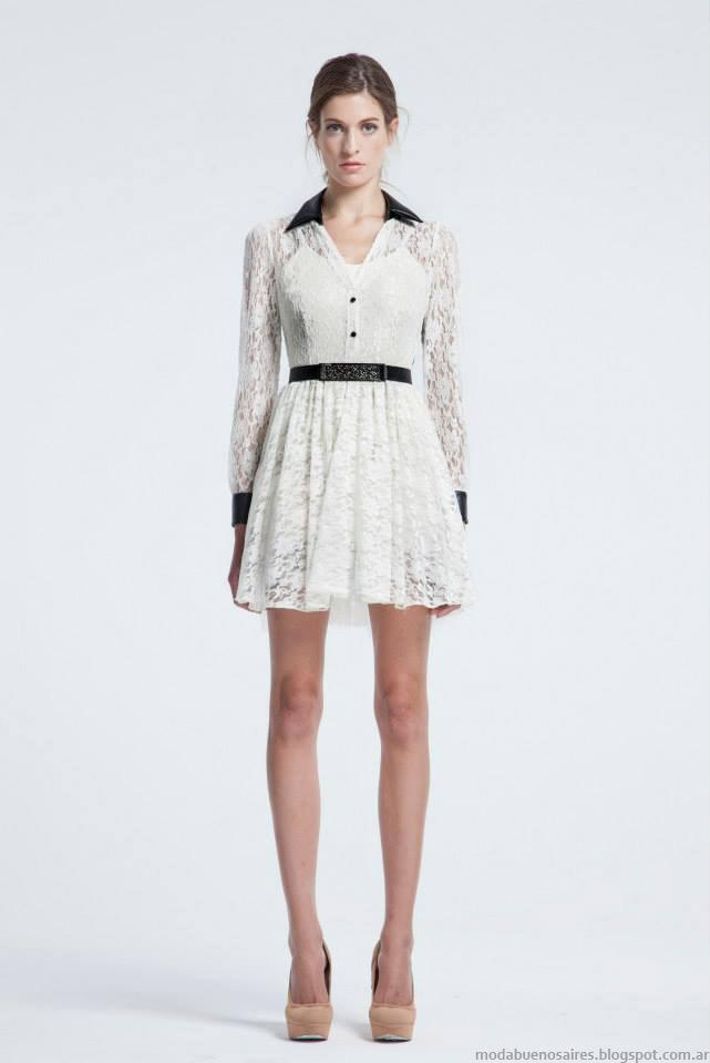 Vestidos de fiesta otoño invierno 2015 Natalia Antolin . Moda otoño invierno 2015.