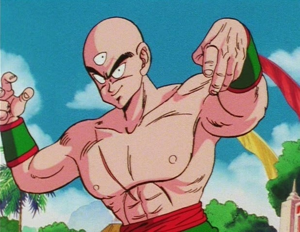 Wallpaper Ten Shin han (Dragon Ball)