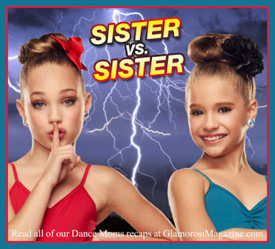 L to R: Maddie Ziegler and Mackenzie Ziegler on Dance Moms season 5