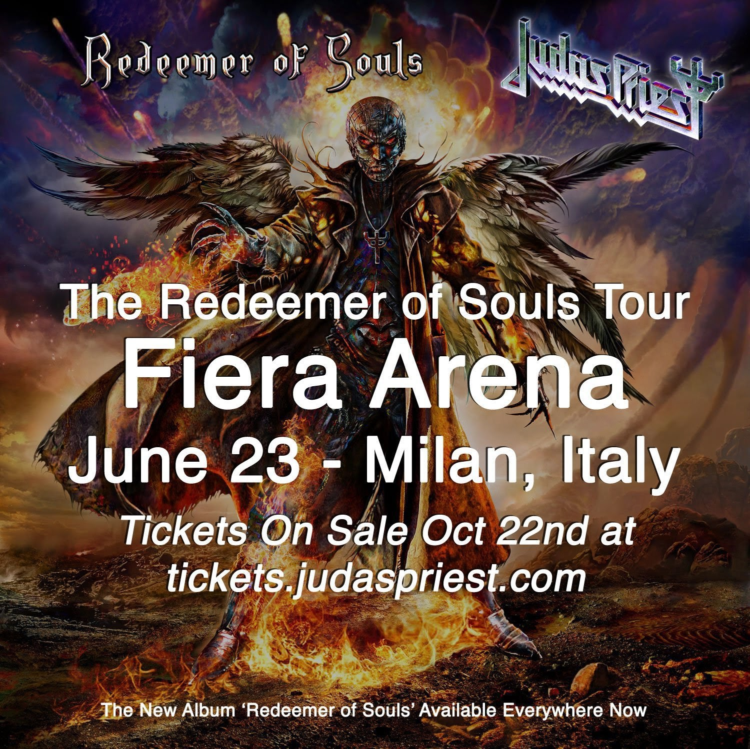 judas priest milano 2015