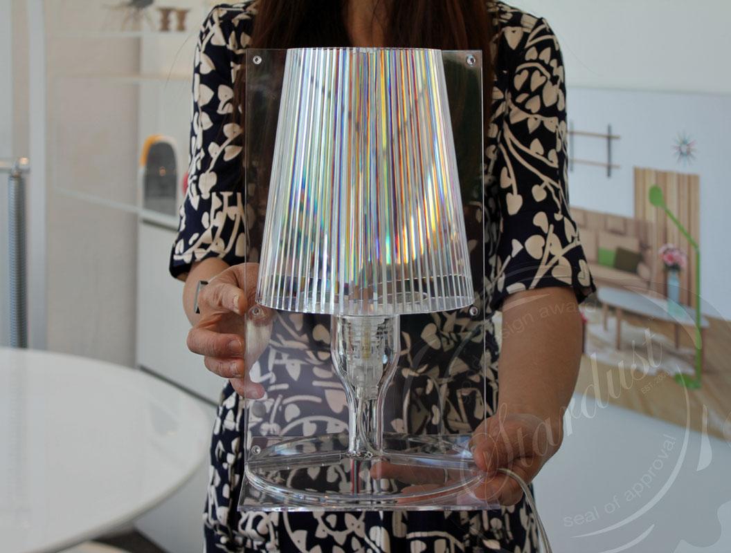 Take™ Lamp - Crystal/Clear : Kartell | moderndesigninterior.com
