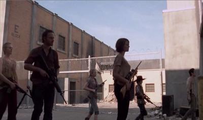 Escena del episodio 11 de la tercera temporada de The Walking Dead