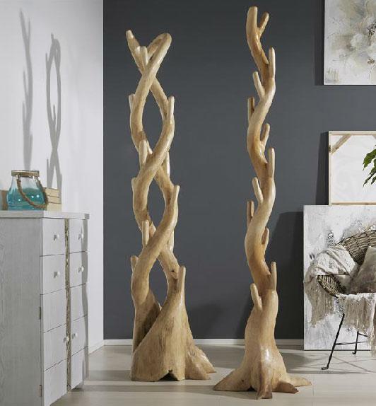 La web de la decoracion y el mueble en la red percheros - Percheros de madera rusticos ...