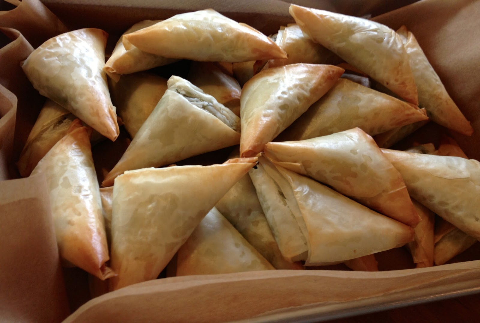 Heidi's Mix: Spanakopita Triangles