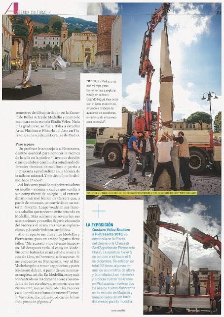 Revista Estilo. Colombia. Octubre de 2013