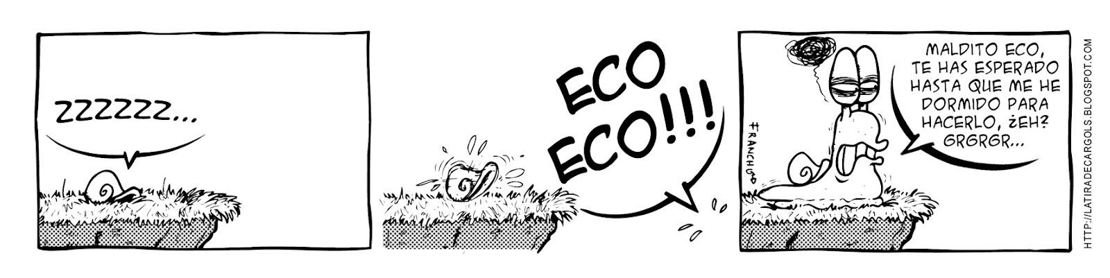Tira comica 122 del webcomic Cargols del dibujante Franchu