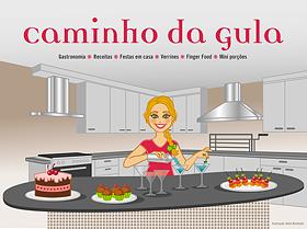 Ilustração para cabeçalho de blog com personagem + ação + elementos de apoio + cenário + título