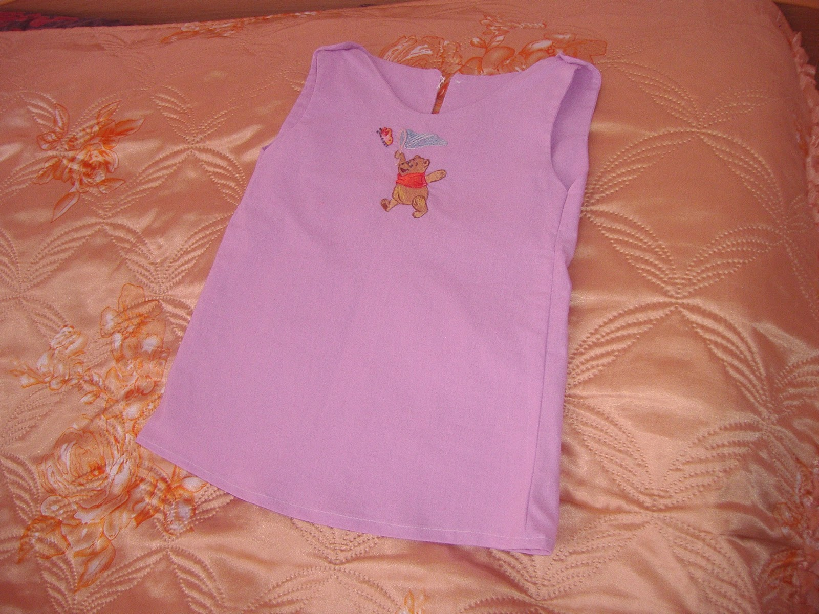 Летнее платье для дочки сшить