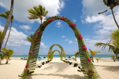 hawaiian wedding decorations