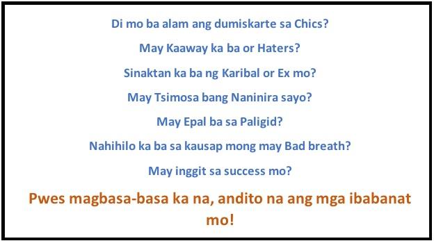 Pick up lines tagalog pang asar para sa babae